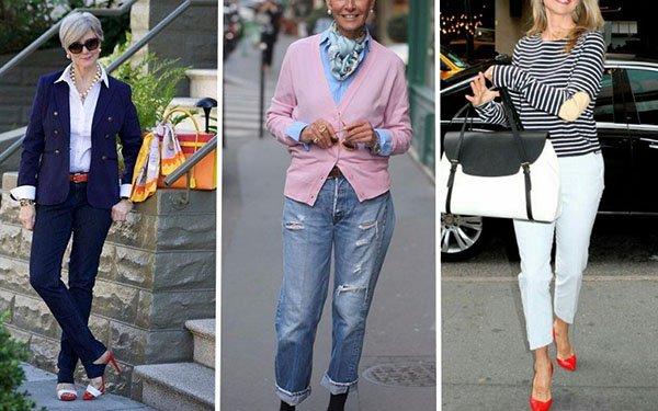 Как стильно носить джинсы после 50: эти правила важно знать