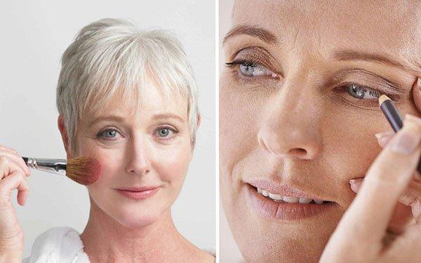 Как выглядеть моложе с помощью макияжа: 4 простых секрета