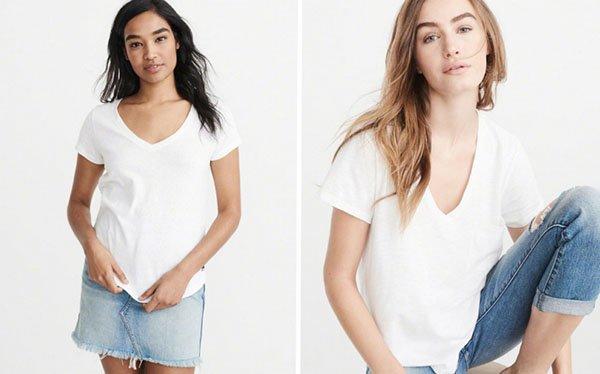 Белая футболка – тренд современного гардероба: как носить ее стильно