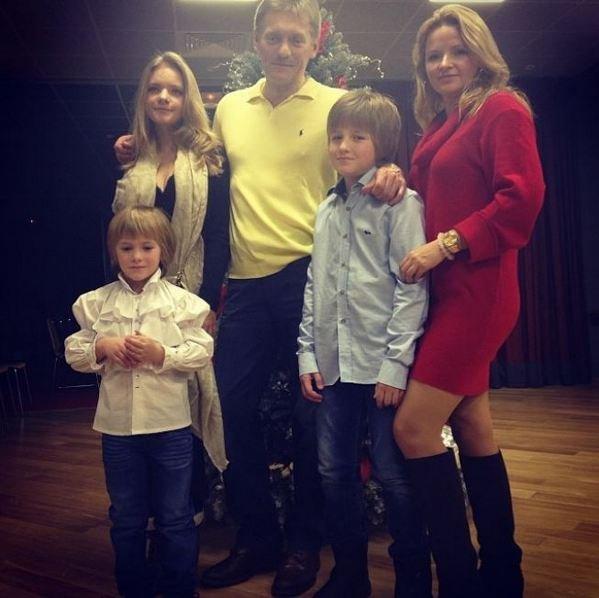 Бывшая жена и дети дмитрия пескова 89