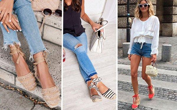 Эспадрильи – модная обувь лета 2018: как выбрать и носить