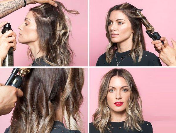 Как сделать небрежные волны на волосах любой длины