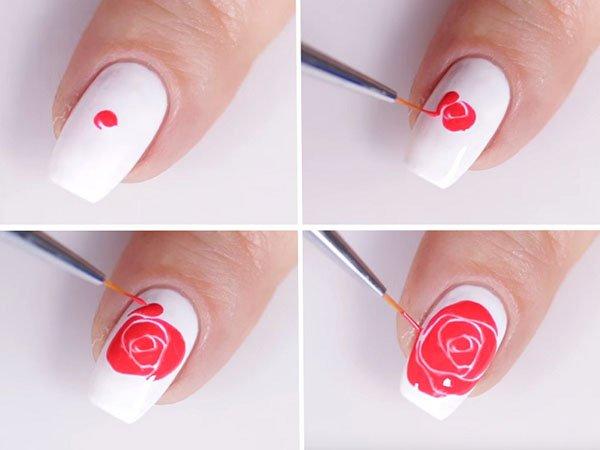 Как сделать цветочный маникюр самой: 3 простых дизайна