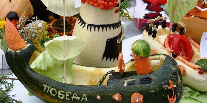 Детские поделки из овощей своими руками — на выставку и ярмарку «Золот