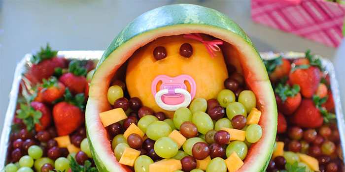 Поделки из фруктов своими руками: пошаговые фото для детского сада и ш