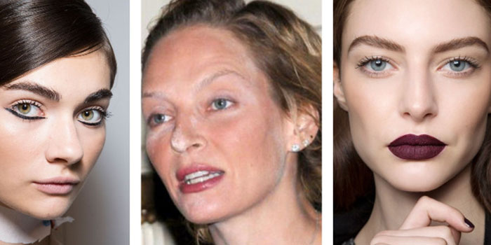 5 привычек, которые вас старят: Полегче с макияжем