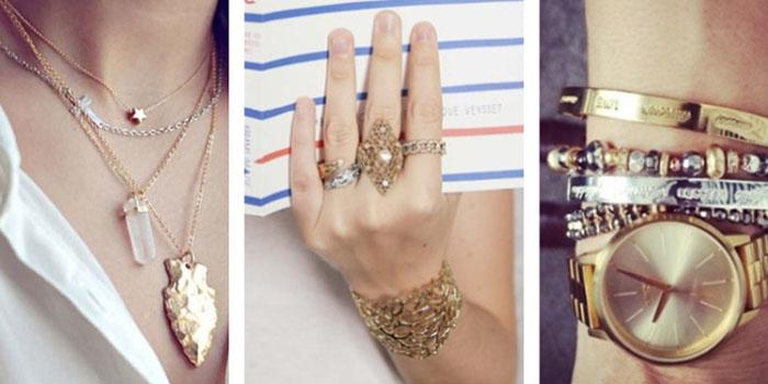 Как носить золото с серебром вместе и не выглядеть глупо