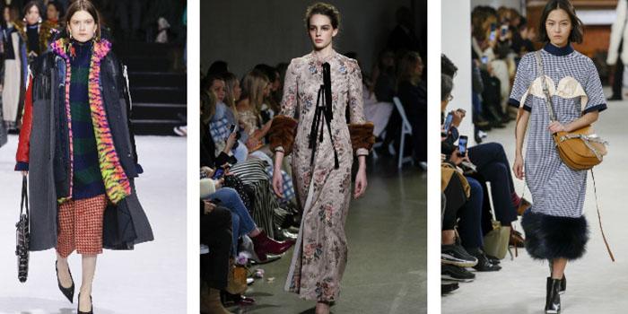 Необычные сочетания одежды с подиумов FW 2019, которые хочется взять на заметку
