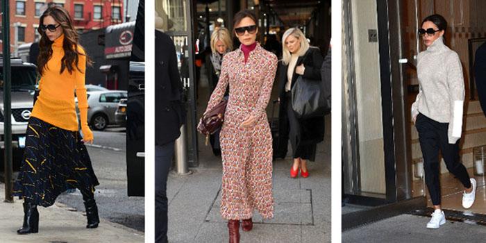 Осенний гардероб как у Виктории Бекхэм: идеи для аутфитов