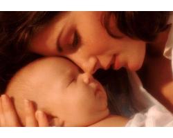 Приснился беременной женщине её ещё неродившийся ребенок
