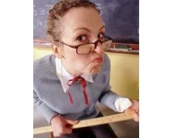 Первая моя учительница