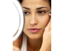 Красивый дневной макияж для брюнеток