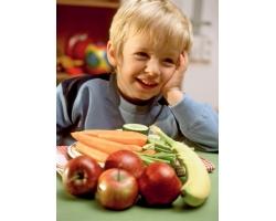 Блюда для детей из овощей и фруктов