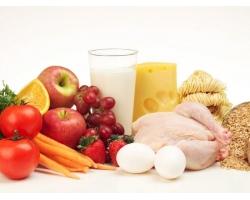Пищевые продукты, используемые в питании детей