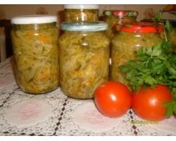 Кулинария: заготовки на зиму, салаты