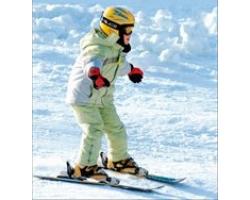 Как научить ребенка кататься на горных лыжах?