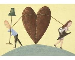 Расставание с мужем: как пережить развод