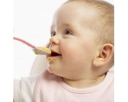 Введение прикорма детям до года