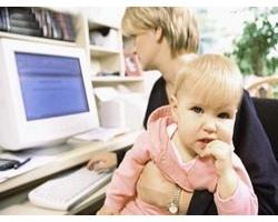 Работа женщин, находящихся в отпуске по уходу за ребенком