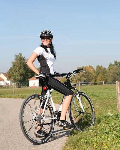 Как похудеть, катаясь на велосипеде.