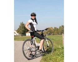 Езда на велосипеде для похудения.