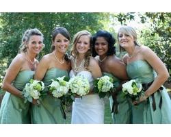 Свадебные наряды для подруг невесты