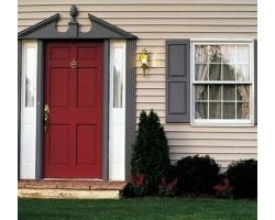 Парадная дверь по фен-шуй в частном доме