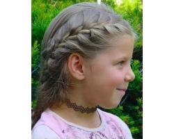 Детские прически на длинных волосах
