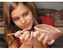 Лепка из глины для детей