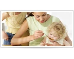 Питание детей до трех лет