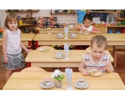 Роль питания в детском саду