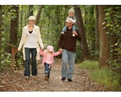 Семейная жизнь шведской семьи