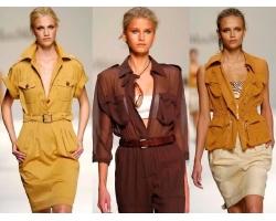 Стиль сафари в одежде