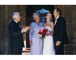 Традиции для родителей жениха на свадьбе