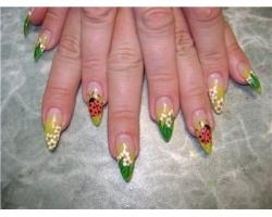 Стильный дизайн ногтей