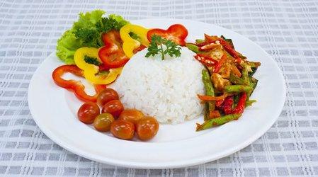 Рисово-овощная диета