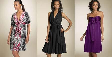 Весенние платья 2008