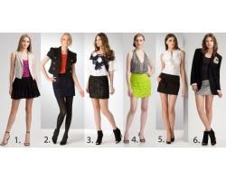 Мини-юбка: какую обувь одеть