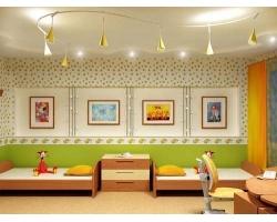 Освещение детской комнаты