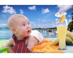 Как провести отпуск с грудничком