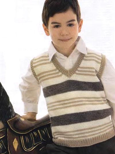 вязание спицами безрукавки детской