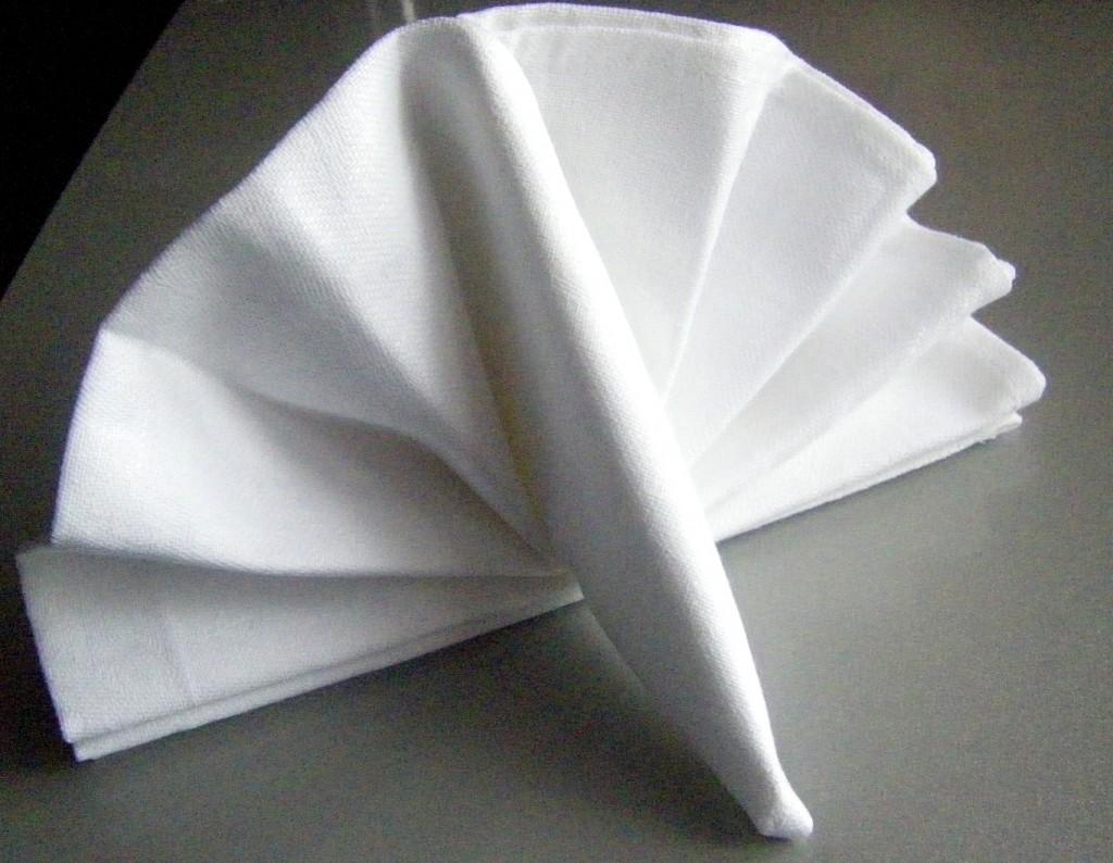 Как красиво сложить салфетку на стол схемы