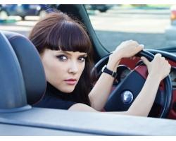 Женщина за рулем: плюсы и минусы