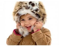 Как не навредить коже ребенка на прогулках зимой?
