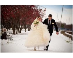 Свадьба зимой: не стоит ее бояться