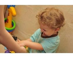 Изучение с ребенком формы и цвета