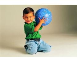 Развивающие детские игры с мячом