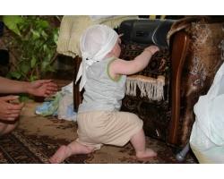Комплекс  упражнений для малыша «Пора вставать на ножки»