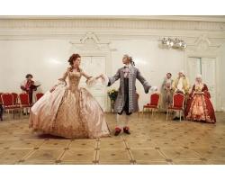 Дворянская свадьба в стиле XVII-XVIII века