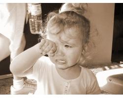 Если малыш плачет в детском саду